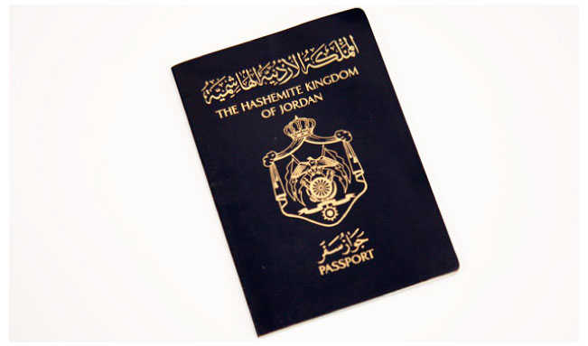 Passport to Jordan